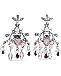 DANNIJO Earrings - Red