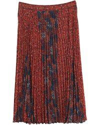 Sessun 3/4 Length Skirt - Red