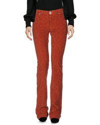 Nolita Casual Trousers - Red