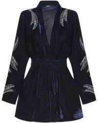 Dodo Bar Or Overcoat - Blue