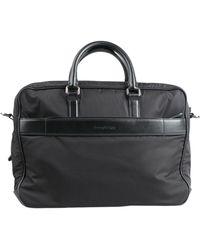 Ermenegildo Zegna Work Bags - Black
