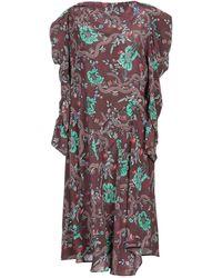 Isabel Marant Vestido por la rodilla - Multicolor