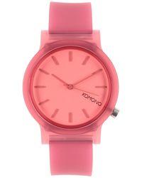 Komono Reloj de pulsera - Rosa