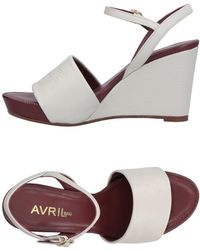 Avril Gau Sandals - Gray
