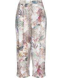 Liu Jo 3/4-length Pants - White