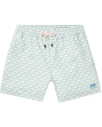 Pink House Mustique Swimming Trunks - Green
