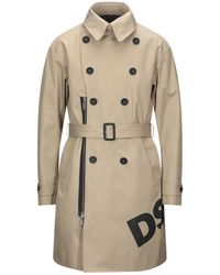 DSquared² Overcoat - Natural