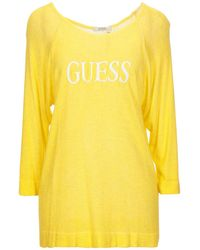 Guess Pullover - Jaune
