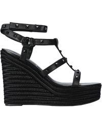 Kendall + Kylie Sandals - Black