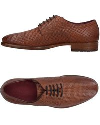 Guess Lace-up Shoe - Brown
