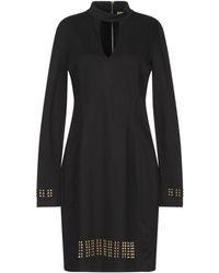 Versace Jeans Couture Minivestido - Negro