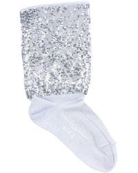 Golden Goose Deluxe Brand Short Socks - Grey