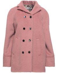 Lardini Coat - Pink