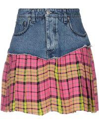 Vetements Denim Skirt - Blue