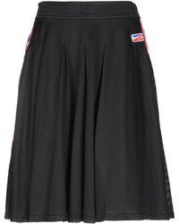 Nike Knee Length Skirt - Black