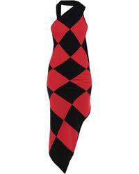 Gareth Pugh Short Dress - Red