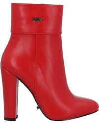 Gai Mattiolo Ankle Boots - Red