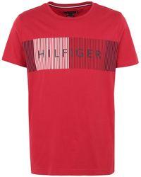 Tommy Hilfiger T-shirts - Rot