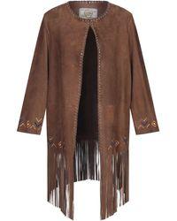 Vintage De Luxe Overcoat - Brown