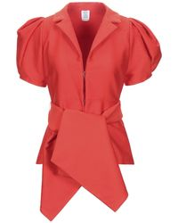 Rosie Assoulin Chemise - Rouge