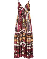 Souvenir Clubbing Long Dress - Red