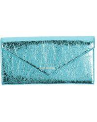 Balenciaga Portefeuille - Bleu