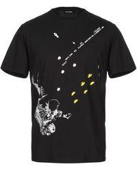 Raf Simons Astronaut Graphic T-shirt Black