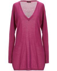 Ballantyne Sweater - Purple