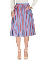 Hache - 3/4 Length Skirts - Lyst