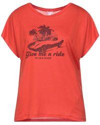Lala Berlin T-shirt - Red