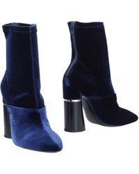 3.1 Phillip Lim Ankle Boots - Blue