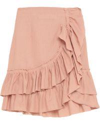 IRO Midi Skirt - Pink