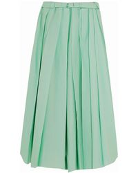 Marni 3/4 Length Skirt - Green