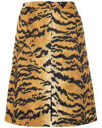 Essentiel Antwerp Midi Skirt - Multicolour