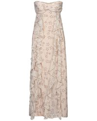 Soallure 3/4 Length Dress - Pink