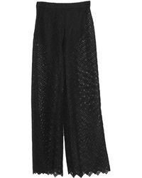 Mc2 Saint Barth Trousers - Black