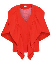 MILLY Overcoat - Red