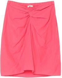 Humanoid Midi Skirt - Pink