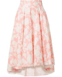 Miguelina 3/4 Length Skirt - Pink