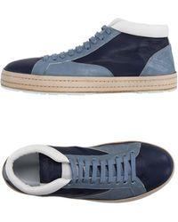 Jil Sander High-tops & Sneakers - Blue