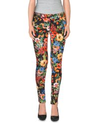 Love Moschino - Casual Trousers - Lyst