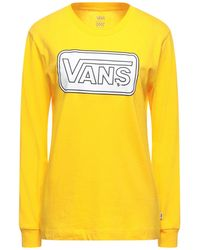 Vans T-shirt - Yellow