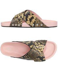 By Malene Birger Sandals - Multicolour