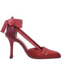 Manolo Blahnik Zapatos de salón - Rojo