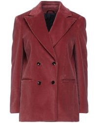 Mp Massimo Piombo Suit Jacket - Red