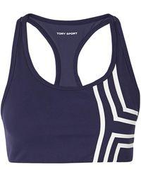Tory Sport Soutien-gorge - Bleu