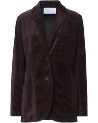 Harris Wharf London Suit Jacket - Brown