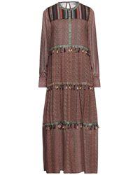 MEISÏE Robe longue - Marron