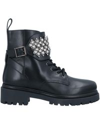 Rene Caovilla Ankle Boots - Black