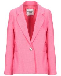 Essentiel Antwerp Suit Jacket - Pink